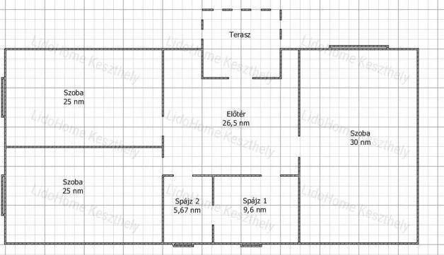 Eladó, Jánosháza, 3 szobás