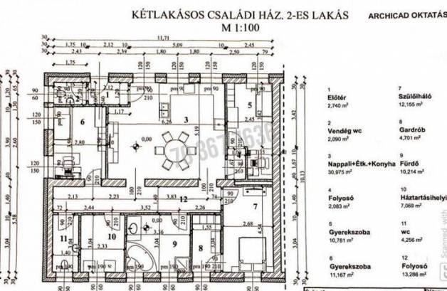Eladó 4 szobás családi ház Tata