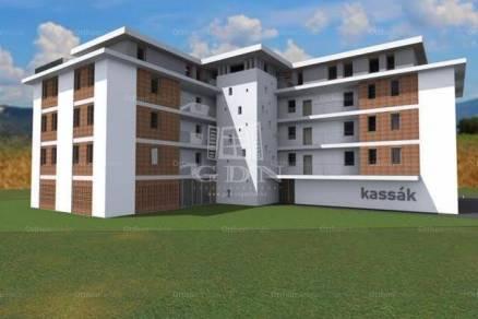 Szombathelyi eladó lakás, 3 szobás, a Kassák Lajos utcában, új építésű