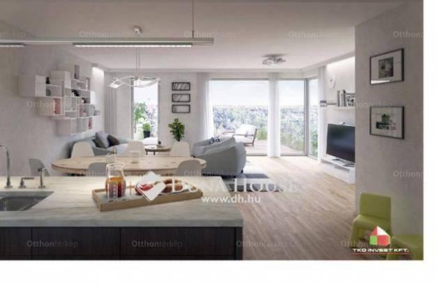 Eladó új építésű lakás Budafokon, 1+2 szobás