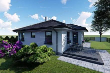 Siófoki új építésű családi ház eladó, 100 négyzetméteres, 4 szobás
