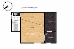 Eladó lakás, Budapest, Terézvárosban, 30 négyzetméteres