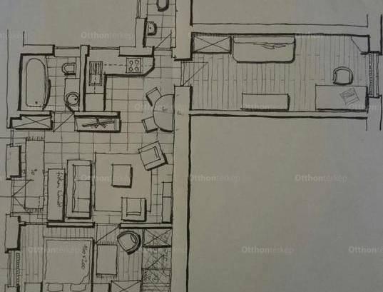 Budapesti lakás kiadó, 62 négyzetméteres, 3 szobás