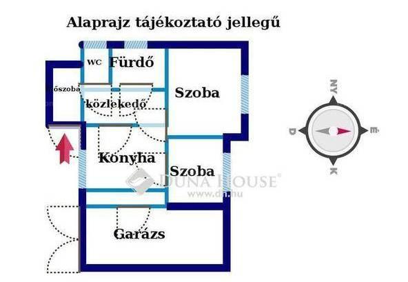 Eladó 1+1 szobás sorház, Angyalföldön, Budapest