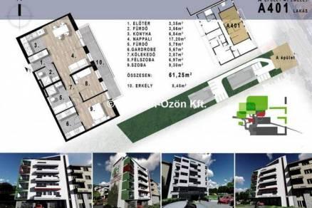 Eladó 1+2 szobás új építésű lakás Óbudán, Budapest, Bécsi út