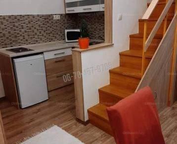 Budapesti lakás kiadó, 23 négyzetméteres, 1 szobás