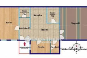 Eladó lakás, Budapest, Terézvárosban, 98 négyzetméteres
