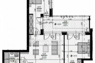 Budapest új építésű, 3 szobás