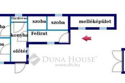 Egeri családi ház eladó, 100 négyzetméteres, 3 szobás