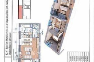 Miskolci új építésű lakás eladó a Zsolcai kapu, 65 négyzetméteres