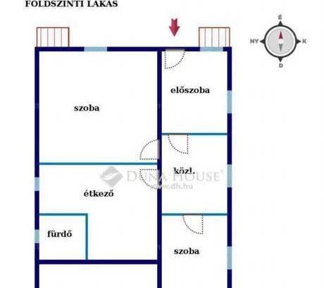 Eladó, Érd, 4 szobás