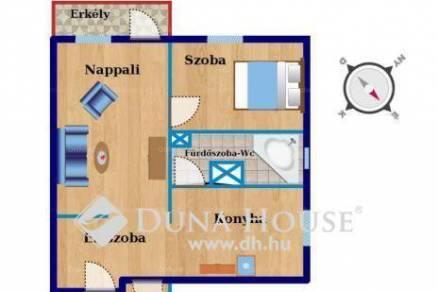Eladó lakás Törökőrön, XIV. kerület Emma köz, 2 szobás