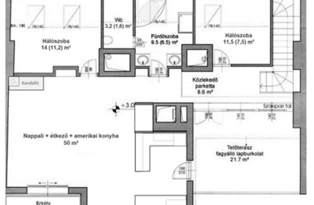 Budapesti eladó lakás, Vízivárosban, Vitéz utca