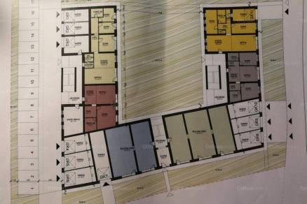 Egeri új építésű garázs eladó, 19 négyzetméteres