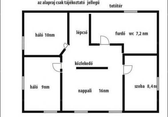 Eladó családi ház Budapest, 3+4 szobás