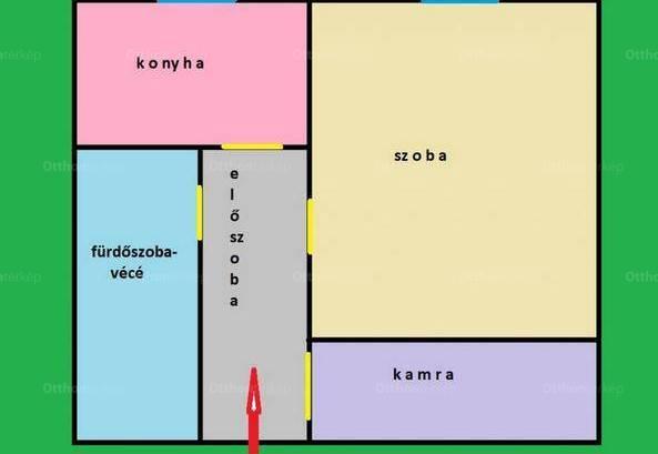 Kiadó lakás Újlakon, II. kerület Zsigmond tér, 1 szobás