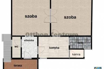 Budapesti házrész eladó, Kispesten, Petőfi utca, 2 szobás