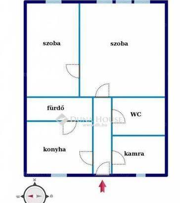 Eladó lakás, Pécs, 1+1 szobás