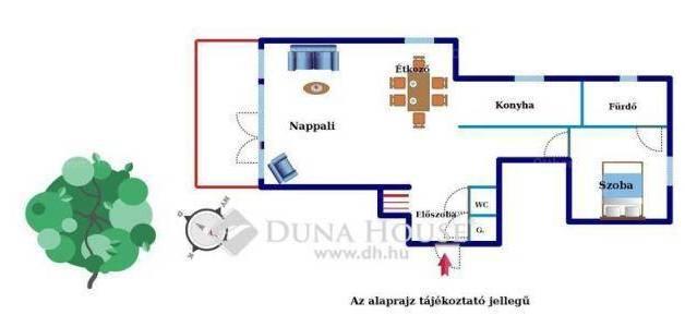 Eladó családi ház Adyligeten, 5+1 szobás
