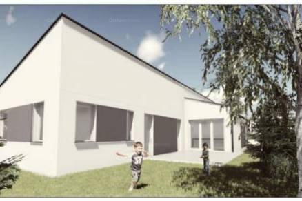 Budapest 3+2 szobás új építésű családi ház eladó, Ganzkertvárosban