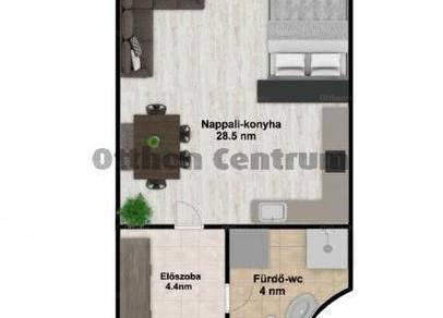 Budapesti lakás eladó, Újhegyen, 1 szobás