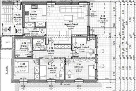 Eladó 2+3 szobás lakás Budapest, új építésű