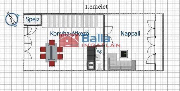 Eladó, Szigetszentmiklós, 4 szobás