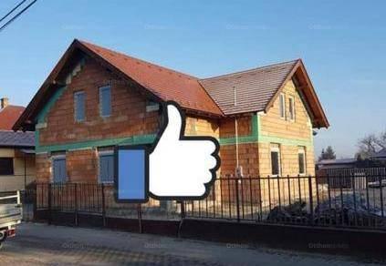 Dabas új építésű ikerház eladó, 2+2 szobás
