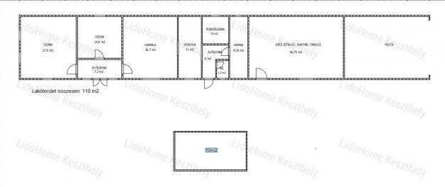Eladó 3 szobás családi ház Káptalantóti