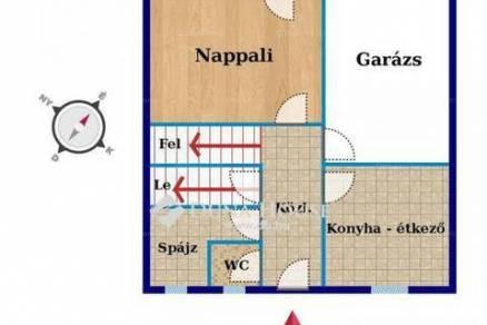 Családi ház eladó Székesfehérvár, a Kriványi utcában, 150 négyzetméteres