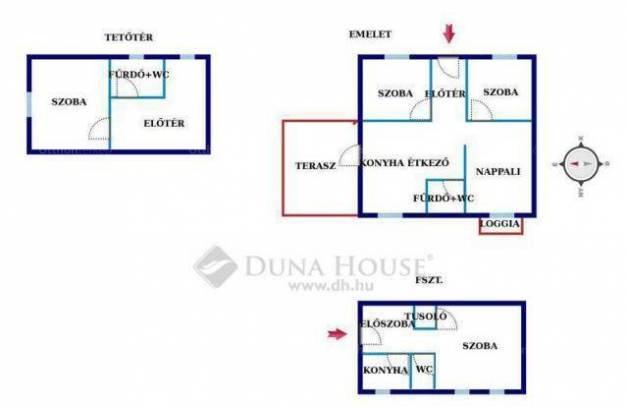 Eladó családi ház Pécs, 3+2 szobás