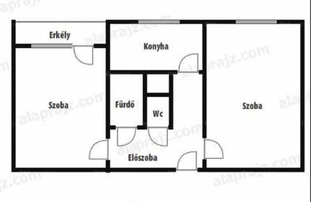 Székesfehérvár lakás kiadó, Palotai út, 2 szobás