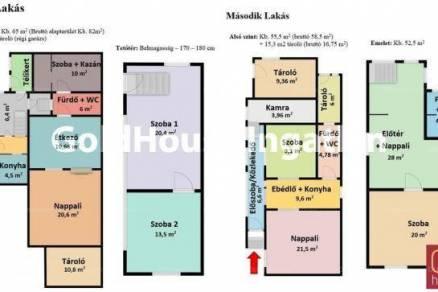 Családi ház eladó Budapest, 198 négyzetméteres