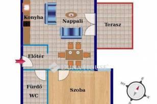 Székesfehérvári új építésű lakás eladó, 65 négyzetméteres, 2 szobás