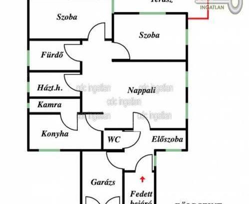 Családi ház eladó Veresegyház, a Hópehely utcában, 224 négyzetméteres