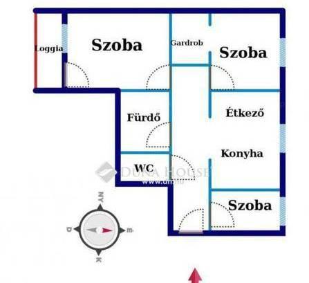 Nyíregyháza 2+1 szobás lakás eladó
