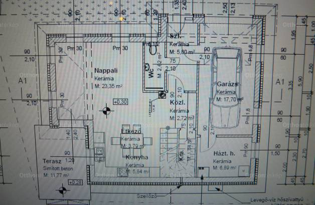 Budapesti új építésű eladó családi ház, Rákoskeresztúron, Csordás utca 47.