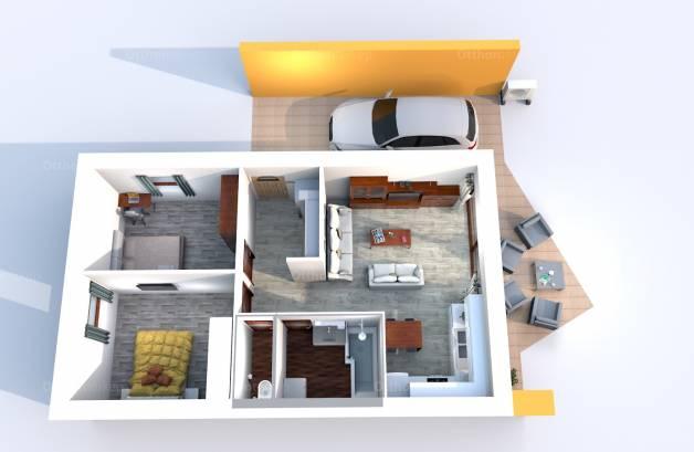 Új Építésű eladó ikerház Ajka, Tálas utca 31., 3 szobás