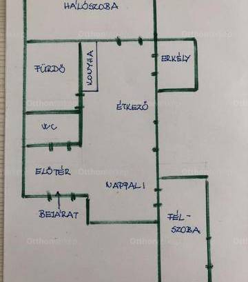 Lakás kiadó Szeged - Korondi utca 7., 50 négyzetméteres