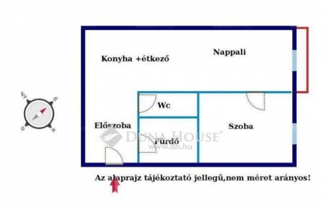 Kiadó 1+1 szobás lakás Győr