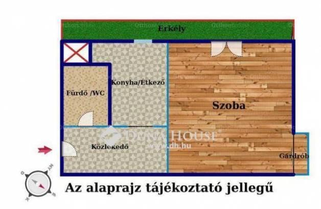 Eladó lakás Angyalföldön, XIII. kerület Esküvő köz, 1 szobás