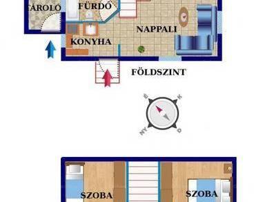 Budapesti lakás eladó, 45 négyzetméteres, 1+2 szobás