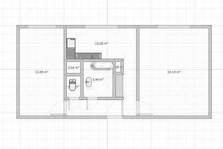 Lakás eladó Békéscsaba - Tinódi utca, 52 négyzetméteres