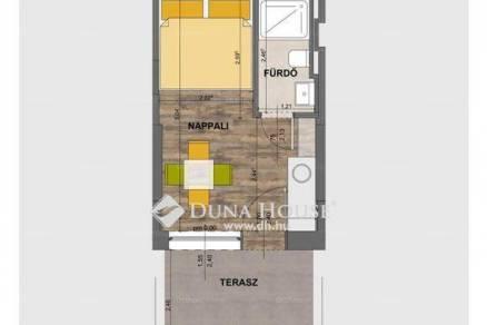 Eladó új építésű lakás Balatonföldvár, 1 szobás