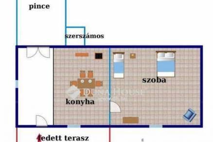 Polgárdi ház eladó a Somlyói úton, 30 négyzetméteres
