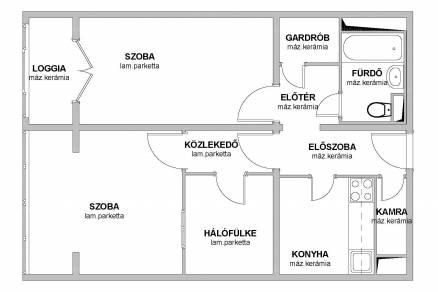 Kiadó lakás Budapest, Aquincum, Szentendrei út, 1+2 szobás
