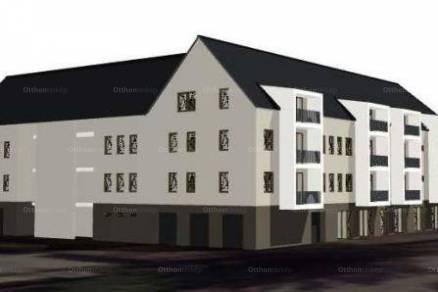 Eger új építésű, 2 szobás