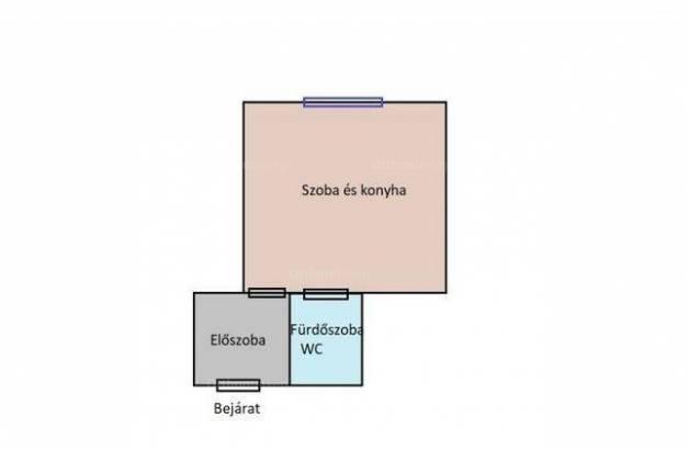Kiadó albérlet, Esztergom, 1 szobás