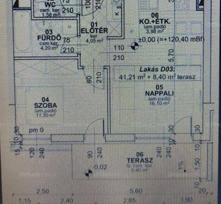 Gárdonyi lakás eladó, 41 négyzetméteres, 3 szobás