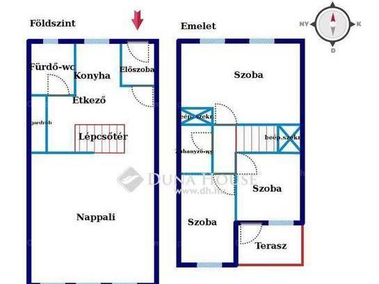 Pécsi eladó lakás, 2+2 szobás, 88 négyzetméteres